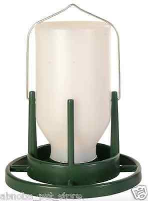 Aviary | Chicken Food & Water Dispenser Clean Dry Food Can Be Hung 1000 ml/20cm