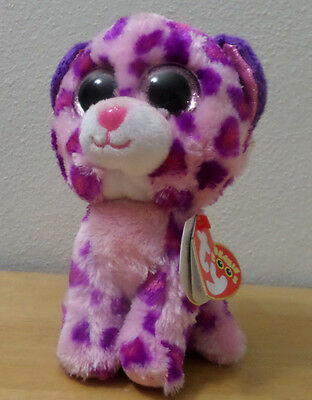 "Ty Beanie Boos GLAMOUR the 6"" Leopard"