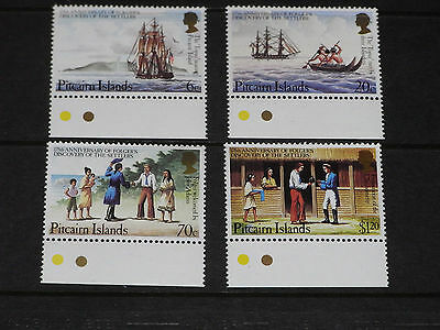 Pitcairn Islands 1983 Folgers Discovery Ann Set Of 4  Fine M/n/h Cond