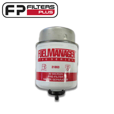 31863 -  Fuel Manager Filter - 30 Micron - Protect Your Injectors - Common Rail