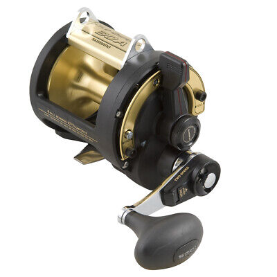 Shimano TLD 2 Speed 50LRSA Overhead Fishing Reel BRAND NEW at Ottos Tackle World