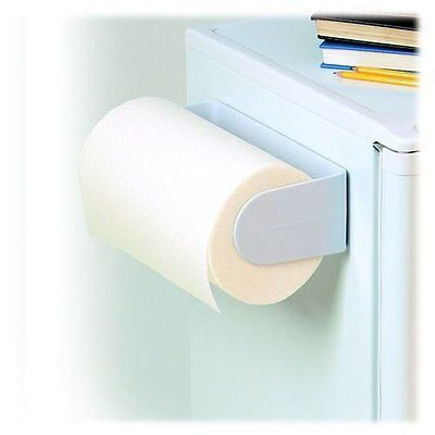 Spectrum Diversified 40500 White Magnetic Paper Towel Holder