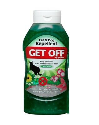 Get Off 640g, Cat & Dog Repellent, Discourages from Fouling on Lawns & Gardens