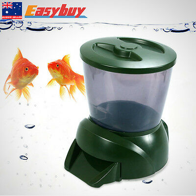 4.25L Automatic Pond-Fish Feeder Digital Tank Pond Fish Food Timer