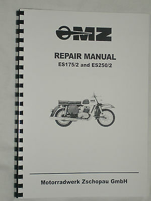 Mz Es 250/2 Workshop Manual