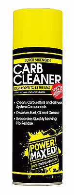 Power Maxed Carb Cleaner Spray Can 500 ml