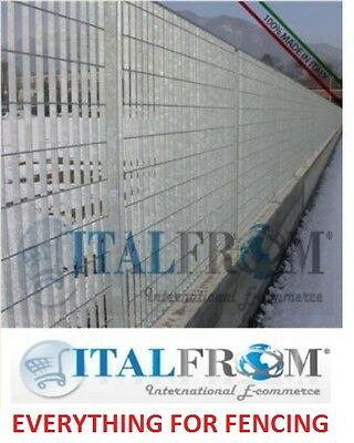 Fence panel railing grill galvanized iron various heights
