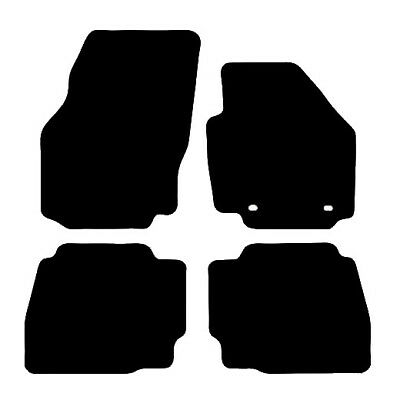 Ford Mondeo (2007 to 2012) Tailored Black 3mm Rubber Car Floor Mats Set of 4