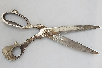 Antique Large Iron Scissors Sewing Dressmakers Tailor Sharp 33 cm 13 inches