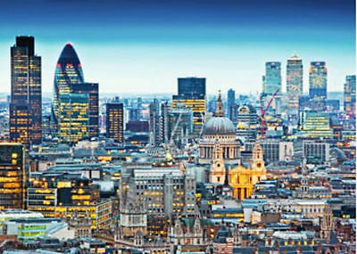 Ravensburger Above London's Roofs 1000pc Jigsaw Puzzle
