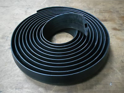 Cable Floor Protector Black Rubber 9 Metre Length 75 Mm Wide X 14 Mm High