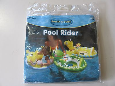 Sand n Sun Pool Rider float, Brand New & Sealed