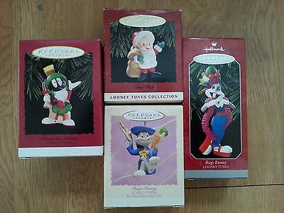 Hallmark Ornaments_Marvin the Martian 1996_Bugs Bunny 1995-98_Elmer Fudd 1993