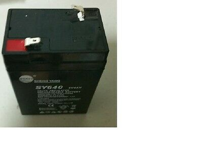 Rechargeable Battery 6V for  CAS ED Scale Part ZS25, New