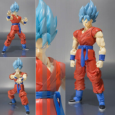 S.H. Figuarts Dragon Ball Z Super Saiyan Son Goku Action Figure Figurine No Box