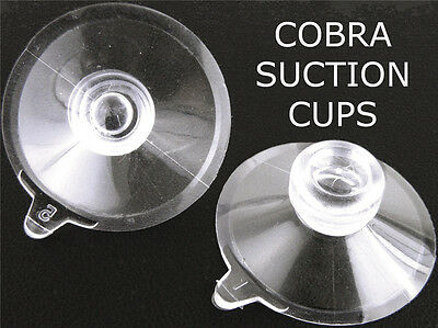 Cobra Radar Detector Mounting Suction Cups Windshield Police Anti NEW XRS Mount