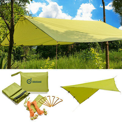 Waterproof Sunshade Tarp Shelter Awning Canopy Camping Beach Tent Shelter Cover
