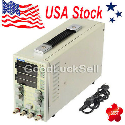 KL283 300W 80V 30A LCD Dual Channel DC Electronic Load Instrument Adjustable USA