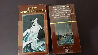Tarot Afro Brasileño _78 cartas Editorial Lo Scarabeo New Sealed