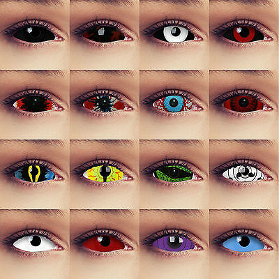 Full Sclera Contacts 22mm costume contact lenses Crazy Cosplay Halloween