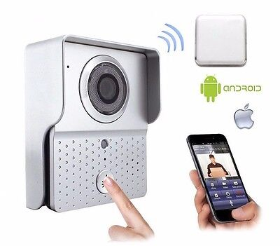 Videocitofono Campanello Wireless Wifi Smartphone Android Ios Led