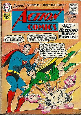 ACTION COMICS 274 DC Silver Age 1961 Lois Lane As Superwoman