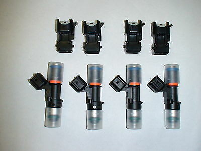 Genuine Bosch EV14 52lb 550cc fuel injectors 1.8T turbo Audi A4 TT VW Golf Jetta