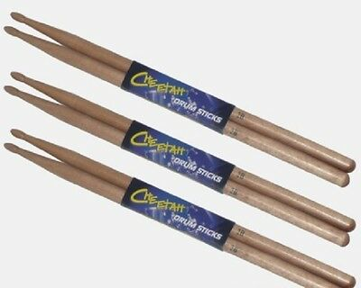 2B 5A 5B 7A SRH Maple Drum Sticks Wood Wooden Tip Band Musical Instrument