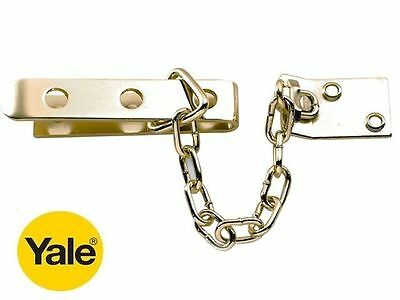 Yale Security Door Chain In Brass Finish - P1040 - New