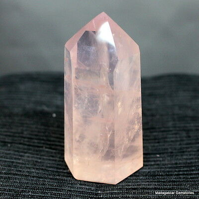 "3.03"" Marvelous Rose Quartz Point Pink Quartz Reiki Crystal, Rqz342"