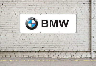 BMW logo sign for workshop, garage, office or showroom pvc banner