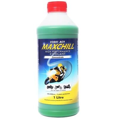 MotoMaxx NEW Mx 1L MaxChill Moto Motocross Dirt Bike Engine Coolant Concentrate