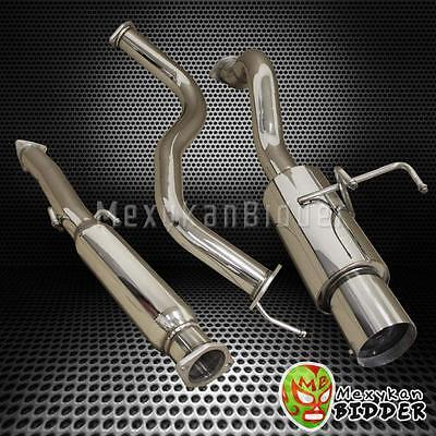 """3"""" Stainless Steel Cat Back Exhaust System Civic Coupe 2/4 DR 1992-2000 4.5"""" Tip"""