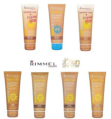 Rimmel Sun Shimmer Instant Tan For Body & Face 125ml ~~ Please Choose Product