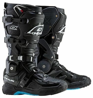 Oneal NEW 2018 Mx RDX 2.1 Heavy Duty Black Motocross Dirt Bike Off Road Boots