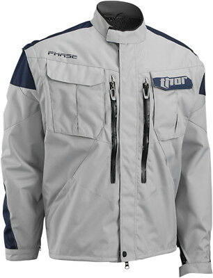 Thor NEW Mx Phase Cement Navy Offroad Trail Motorcycle Adventure Jacket