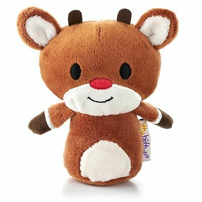 Hallmark Itty Bitty Bittys Rudolph The Red Nosed Reindeer - Retired - NWT RARE
