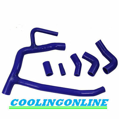 Silicone radiator coolant hose kit for Land Rover Discovery td5 Blue Warranty