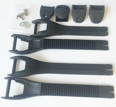 Oneal Mx 2012-2014 Adult Element Replacement Straps Motocross Boot Strap Kit