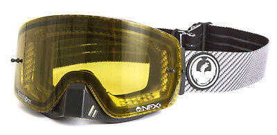 Dragon Mx NFXS Boost Transition Yellow Lens Motocross Dirt Bike Moto Goggles