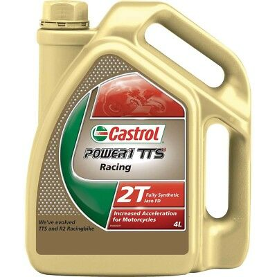 Castrol Mx Oils 4L Power 1 TTS 2T Motocross Dirt Bike 2 Stroke Racing Engine Oil