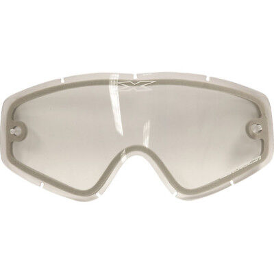 EKS Brand Mx Go-X Motocross Bike Dual Pane Clear Vented Replacement Goggle Lens