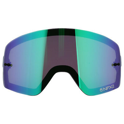 Dragon NEW Mx NFX2 Motocross Goggles Green Ion Replacement Injected Dual Lens