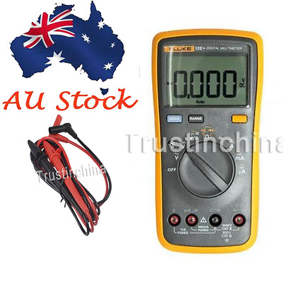 Fluke 12E+ AC DC Voltage Current Auto Range Handheld Digital Multimeter Meter