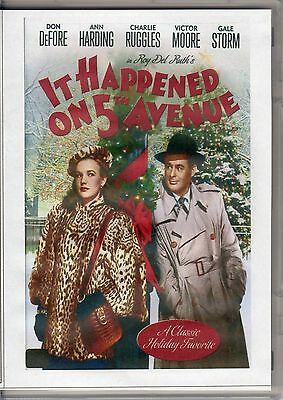It Happened On 5Th Avenue -- Classic Holiday Favourite Movie All Region Dvd *