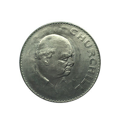 1965 Queen Elizabeth Ii - Churchill Commemorative Crown - Five Shillings