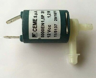 Small Electric Solenoid Valve CEME 12V DC for Gas Water Air N/C normally closed