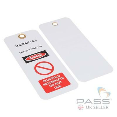 Incomplete / Do Not Use - Scaffold Tag / Scaffolding Tag (Set of 10)