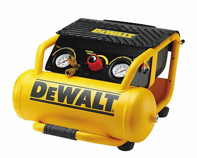 DeWalt DPC10RC-GB 230V 10L 2.0Hp Twin Outlet Roll Cage Compressor