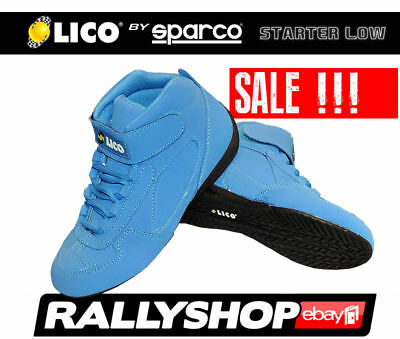 Lico SHOES by SPARCO Starter Low size 36 Blue Boots Karting Track Day Rally Race